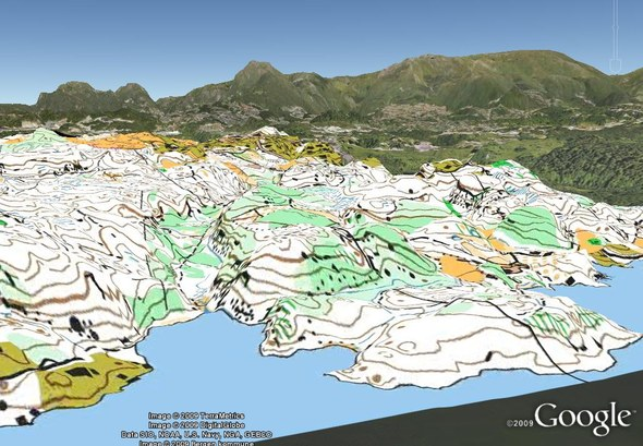 New QuickRoute See your map and route in 3D – 3d Map of Middle Earth