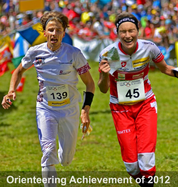 Edgars Bertuks and Simone Niggli: The Orienteering Achievement of 2012!