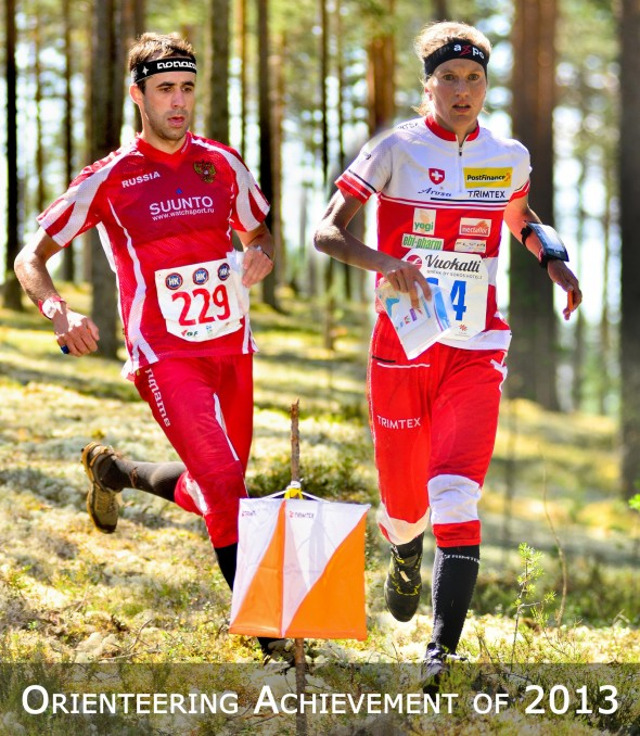 Niggli and Novikov: Orienteering Achievement 2013