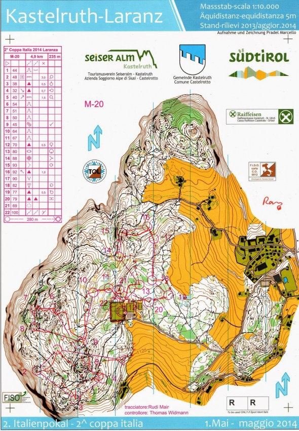 Course of the Year 2014: WOC Middle! | World of O News