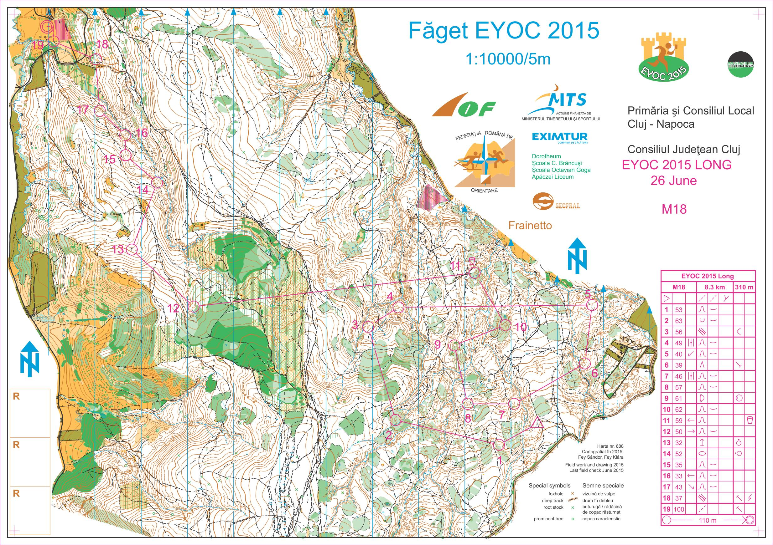 Maps 2015.Eyoc 2015 Maps And Results World Of O News