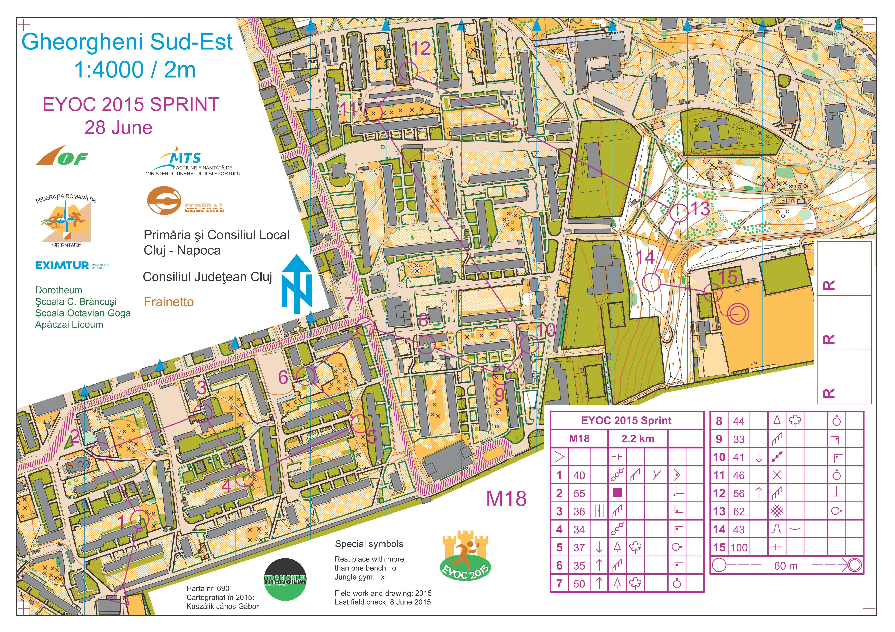 EYOC 2015: Maps and Results | World of O News