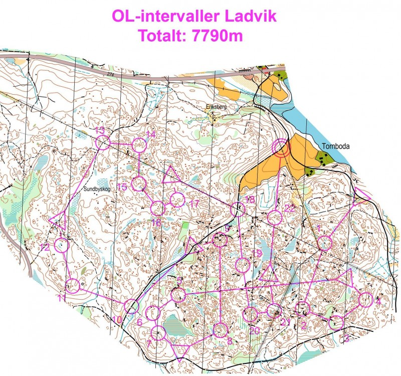 OL-intervaller Ladvik