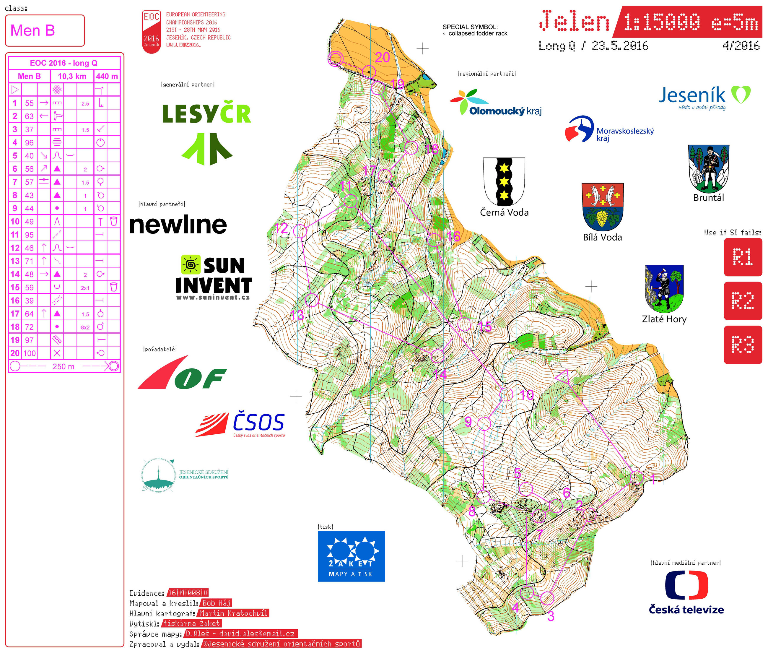 EOC 2016 Long Qual: Maps and Results | World of O News