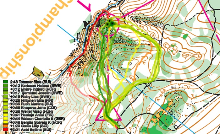 WUOC Sprint Long Maps and Results World of O News