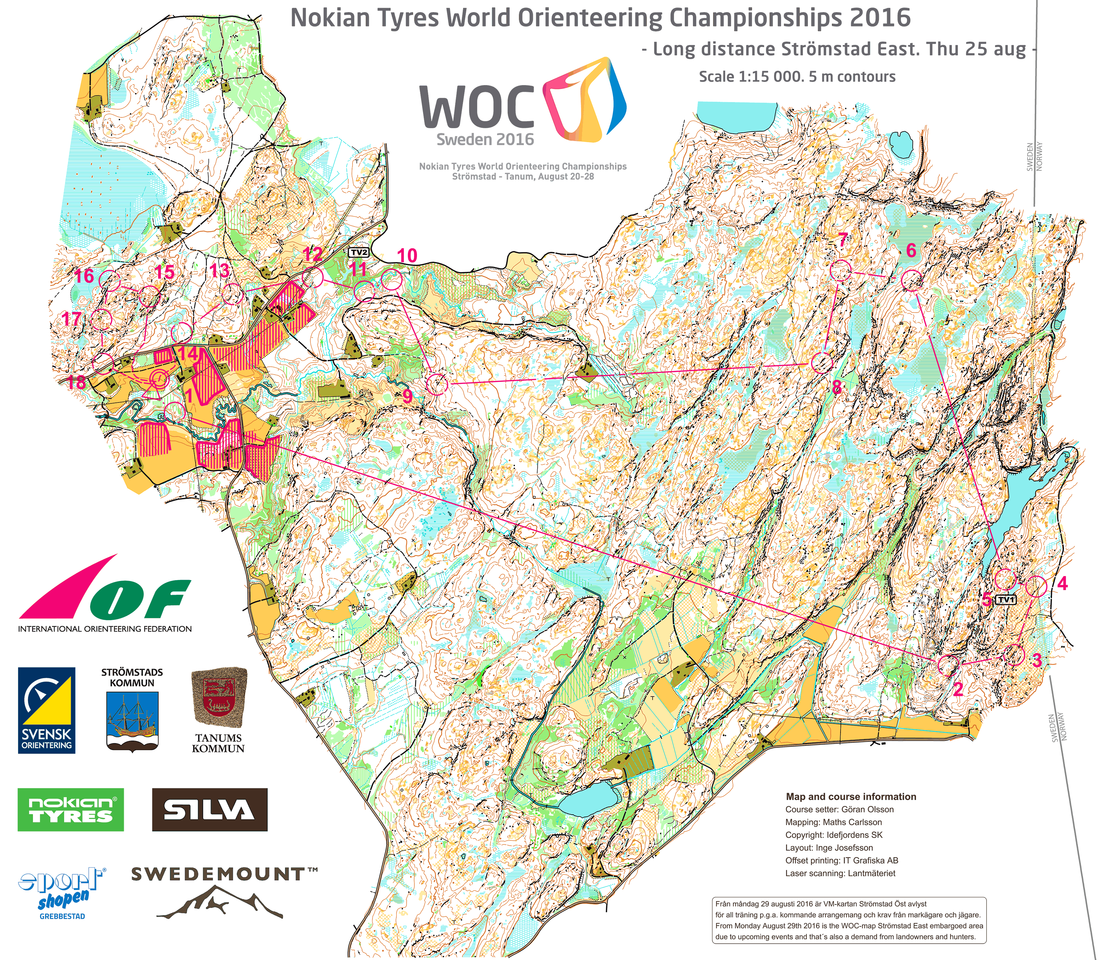Woc 2016 long maps and results world of o news see map in omapsofo biocorpaavc