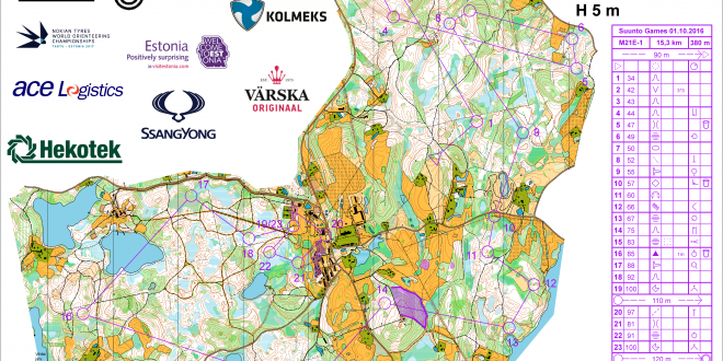Suunto Games 2016 Long: Maps and Results | World of O News