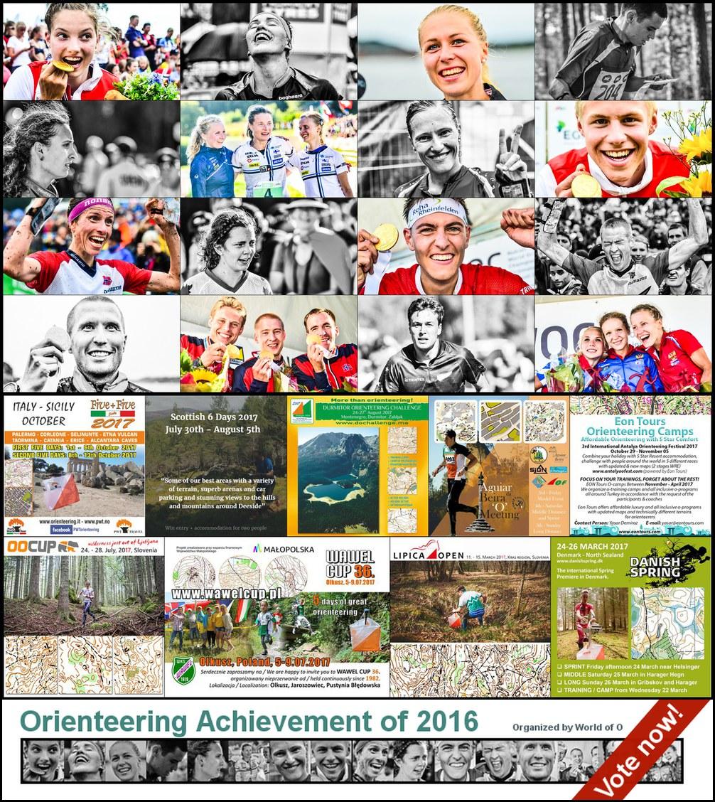 Orienteering Achievement of 2016