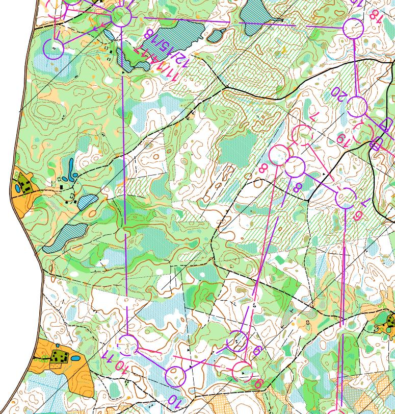 WOC Selection Races Estonia Maps And Results World Of O News - Estonia map