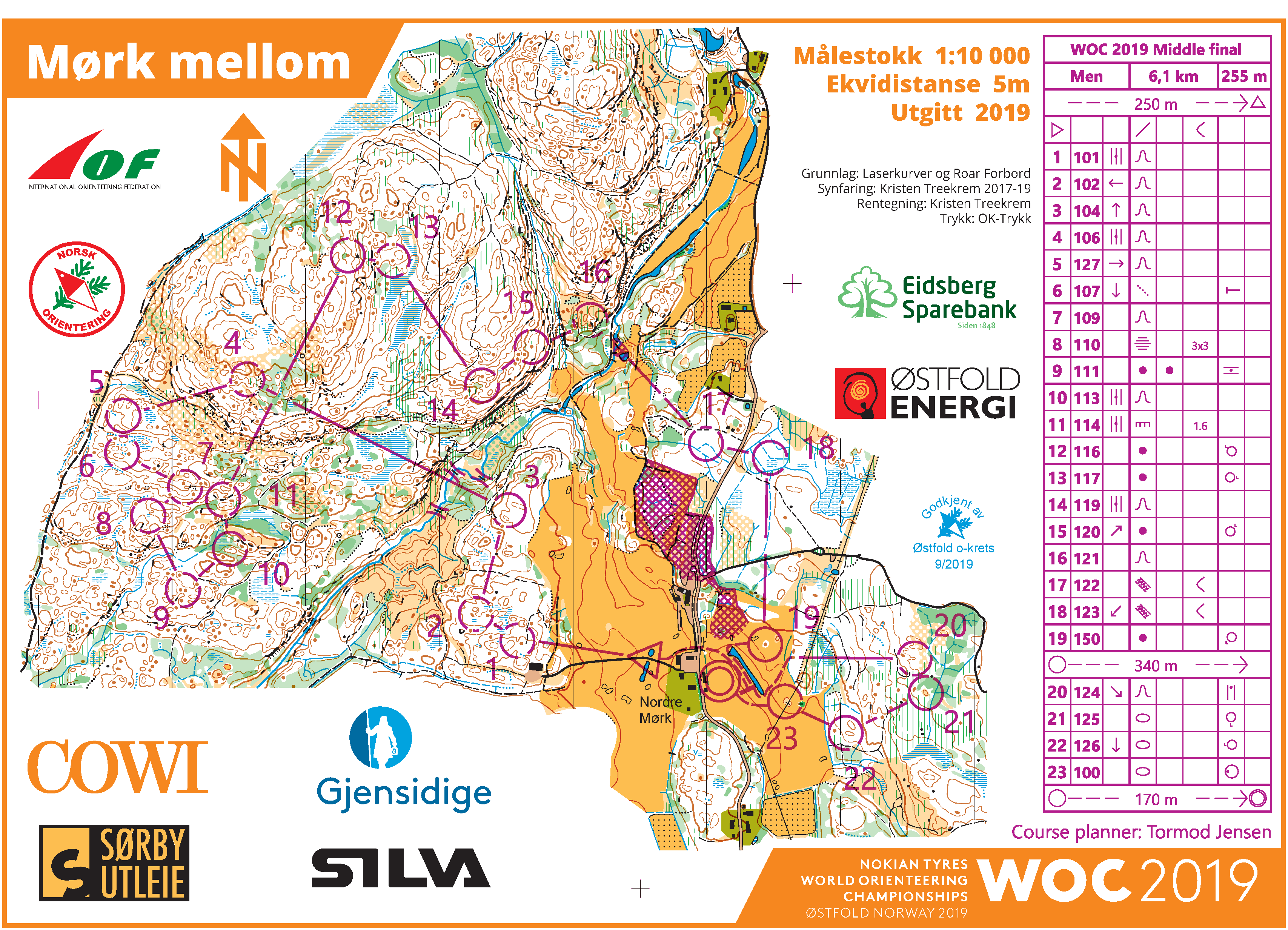 Maps 0.Woc Middle 2019 Maps And Results World Of O News
